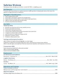 free medical assistant resume samples you can use nowfunctional resume for medical assisting field