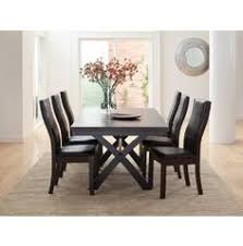this is the dining room table i just bought from art van it so much better in person now i need to find a centerpiece for it art dining room furniture