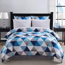 geometric bedding sets tesco madison park bayer  piece comforter