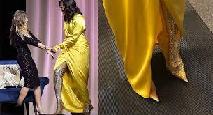 Мишель Обама в блестящем наряде <b>Balenciaga</b>