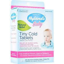 Buy HYLAND'S <b>BABY Tiny Cold</b> Tablets 125tabs Online Singapore ...