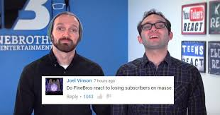 "The Fine Bros. Tried to Trademark ""React"" Videos and the Internet ... via Relatably.com"