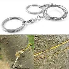 <b>Field Survival Stainless</b> Wire Saw Hand Chain Saw Cutter Outdoor ...