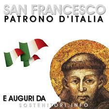 Risultati immagini per 4 ottobre san francesco di assisi