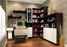 decoration amusing small office decorating ideas with l shaped bookshelves also laminated wood flooring ideas amazing amusing corner office desk elegant home decoration