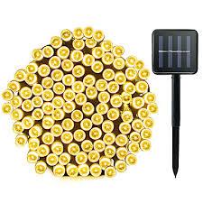ZDM 1 Pack Solar String Lights 72ft <b>22m 200 LED 8</b> Modes Solar ...