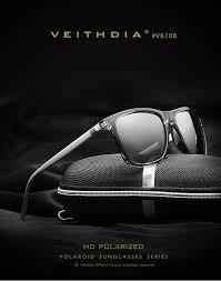 <b>VEITHDIA Unisex Retro Aluminum</b>+TR90 Sunglasses Polarized ...