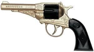 Купить детское оружие <b>EDISON Sterling Metall Gold</b> Western, 17,5 ...
