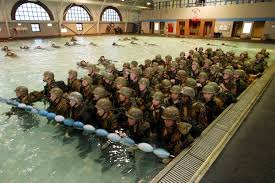 the citizen ier moral risk and the modern military reuters marine corps recruits undergo aquatic training at parris island south carolina 6 2005