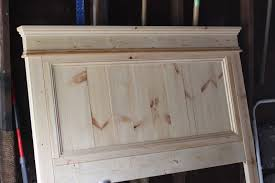 Diy Wood Headboard Jenny Steffens Hobick We Built A Bed Diy Wooden Headboard