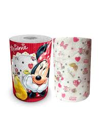 <b>Полотенце кухонное</b> Minny Mouse 3-х слойное, 1 рулон, 150 ...