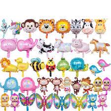 <b>1pc Mini</b> Cartoon Animal Mickey Minnie Dog Aluminum foil Balloons ...