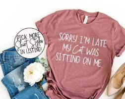 <b>Funny cat shirt</b> | Etsy