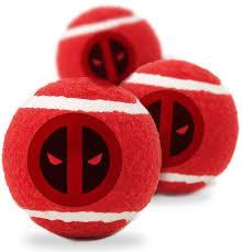 <b>Игрушка Buckle-Down Дэдпул</b> красный теннисные мячики для ...