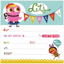 Free Printable Birthday Invitation Templates | Kids Birthday ... Artist Free Printable Birthday Invitation Templates ...