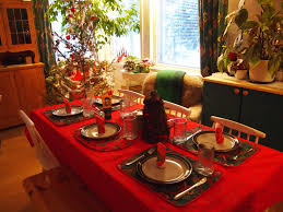 Holiday Dining Room Decorating Simple Dinner Party Table Decorations Ideas Thanksgiving Dinner