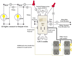cooper gfci outlet wiring diagram cooper image cooper gfci outlet switch wiring diagram cooper on cooper gfci outlet wiring diagram