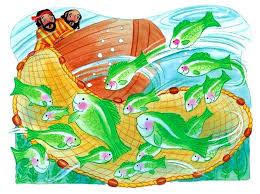 Resultado de imagen para imagenes de la pesca milagrosa para niños