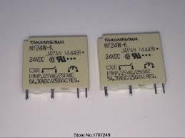 <b>Free Shipping 100</b>% <b>new</b> original relay 10pcs/lot NY24W K 24VDC ...