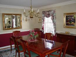Chair Rails In Dining Room Paint Ideas For Dining Rooms With Chair Rail Simple Home