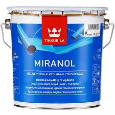 ТИККУРИЛА <b>Миранол</b> база А белая <b>эмаль алкидная</b> (2,7л ...