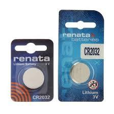 <b>Батарейка литиевая Renata</b>, <b>CR2032</b>-1BL, 3В, блистер, 1 шт ...