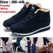 Fashion Men <b>Women Winter Snow</b> Boots <b>Keep Warm</b> Boots Plush ...