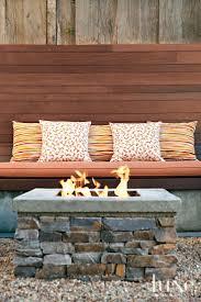 decor contemporary rectangular wooden outdoor