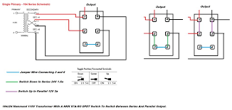 can i use a dpdt toggle switch, to switch a transformer output Wiring A Dpdt On Off On Toggle Switch series and parallel switch copy png Dpdt Toggle Switch Wiring Diagram for Stereo Input
