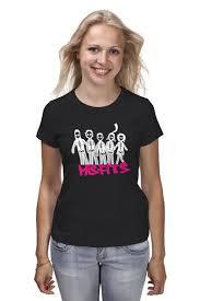 <b>Футболка классическая Misfits</b> #642033 – заказать женские ...