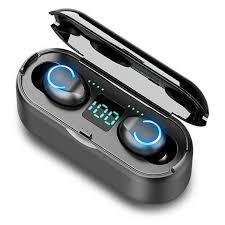 <b>F9</b>-8 <b>TWS</b> Wireless Earbuds bluetooth 5.0 Earphone HiFi Stereo ...