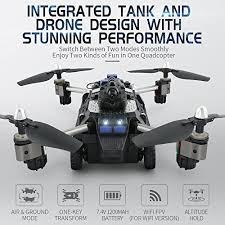 <b>JJRC</b> H40WH 2-in-1 Flying <b>Tank</b> RC Drone F- Buy Online in ...