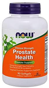 Now Foods <b>Prostate Health Clinical Strength</b> Softgels, 90-Count ...