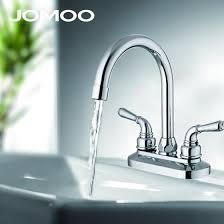 Shop <b>JOMOO bathroom basin faucet</b> mixer tap double handle ...