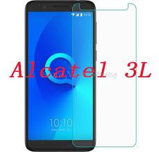"""2 шт. закаленное стекло для <b>Alcatel</b> 3L 5034D 5,5 """"<b>Защитная</b> ..."""
