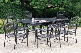garden furniture patio uamp: furniture modern patio furniture and black glaze metal with carved backrest placed on concrete slate iron outdoor patio furniture black ndstreetbistroco