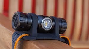 Легкий <b>налобный фонарь Fenix</b> HM23 c АА-аккумулятором ...