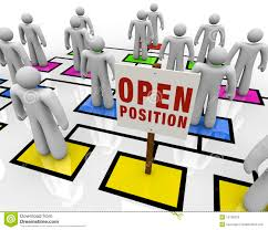 open position job opportunity hiring worker new opening stock open position in organizational chart stock photos