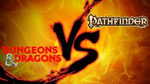 Tabletop RPG Showdown: Dungeons & <b>Dragons 5E</b> vs. Pathfinder