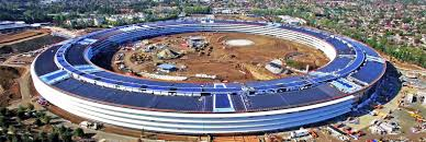 apples new solar powered spaceship office is nearly complete inhabitat green design innovation architecture green building apple new office