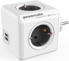 Сетевой <b>разветвитель Allocacoc PowerCube Original USB</b> GREY ...