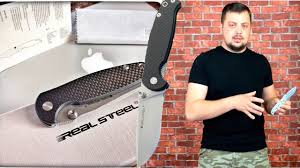 Обзор <b>ножа Real Steel</b> H6-S1. Один из лучших бюджетных EDC ...