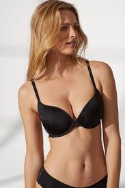 <b>Super push</b>-up microfibre bra - Black - Ladies | H&M