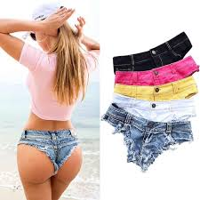 <b>Sexy Denim</b> Micro Mini <b>Shorts</b> For <b>Women</b> Beach Hot <b>Sexy</b> Ripped ...