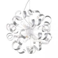 Подвесная <b>люстра Ideal Lux Vortex</b> SP6 Argento – купить в ...