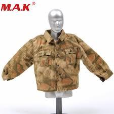 <b>1/6 scale</b> WWII military <b>male man</b> coat clothes clothing set ...