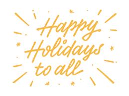 Resultado de imagem para happy holidays