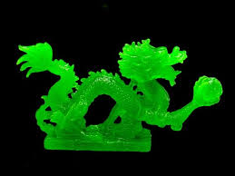 green feng shui dragon grasping pearl of success chinese feng shui dragon