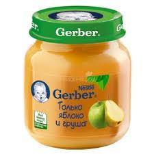 <b>Пюре</b> для детей <b>Gerber</b>