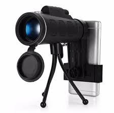 Tech Gear Panda Lens <b>40X60 Zoom Monocular Telescope</b> Camera ...